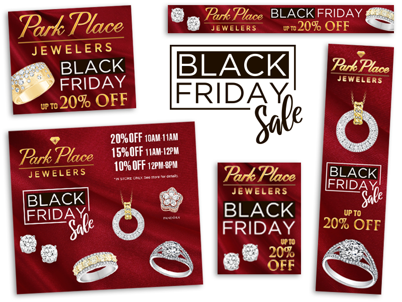 Park Place Jewelers Black Friday campaign
